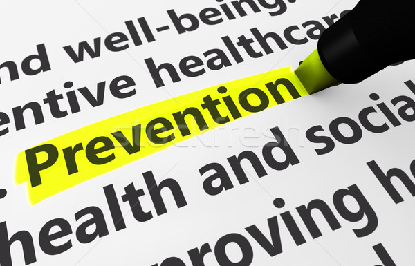 Prevention Medical Concept Stock photo © NiroDesign