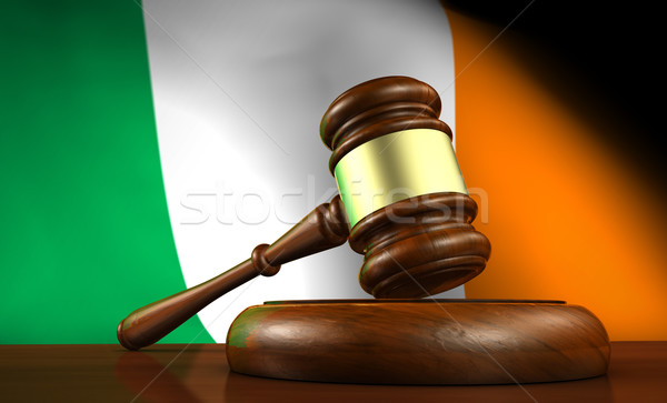 Ireland Law And Justice Concept Stock photo © NiroDesign