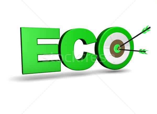Ecology Concept Target Stock photo © NiroDesign