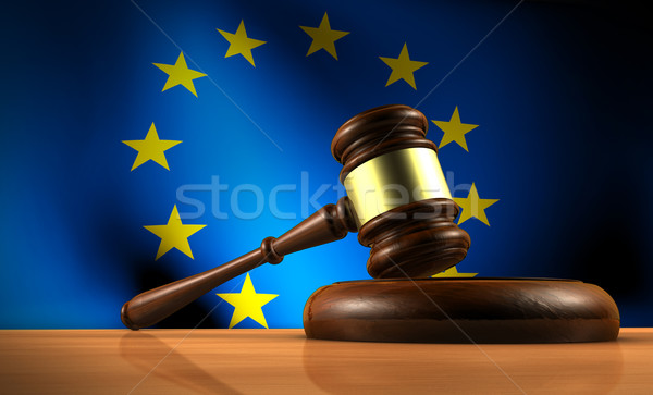 European Union Law Eu Parliament Stock photo © NiroDesign
