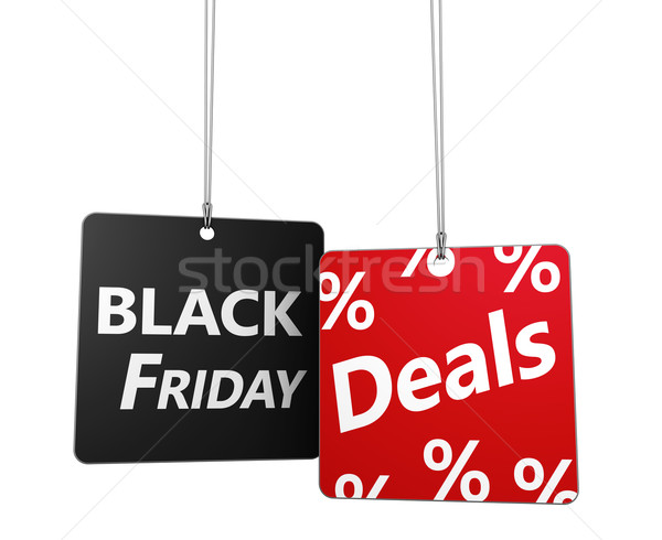 Black Friday Deals Tags Stock photo © NiroDesign