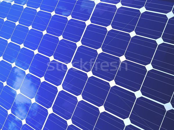 Solar Energy Panels Stock photo © NiroDesign