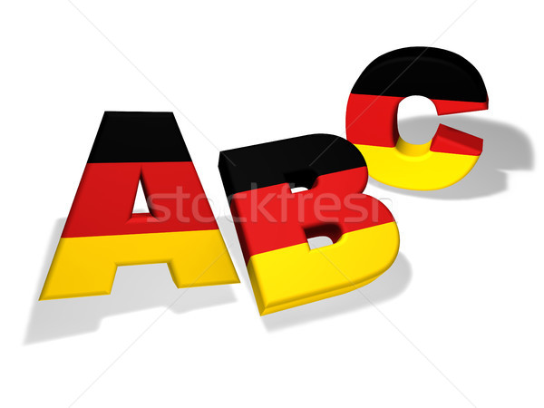 Abc German School Concept Stock photo © NiroDesign