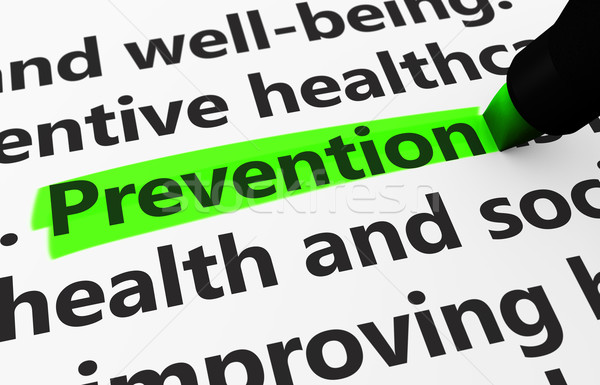 Healthcare Prevention Concept Stock photo © NiroDesign
