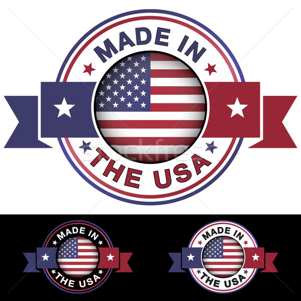 Made In The USA Stock photo © NiroDesign