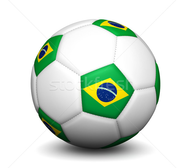 Brazil Football Soccer Ball Stock photo © NiroDesign