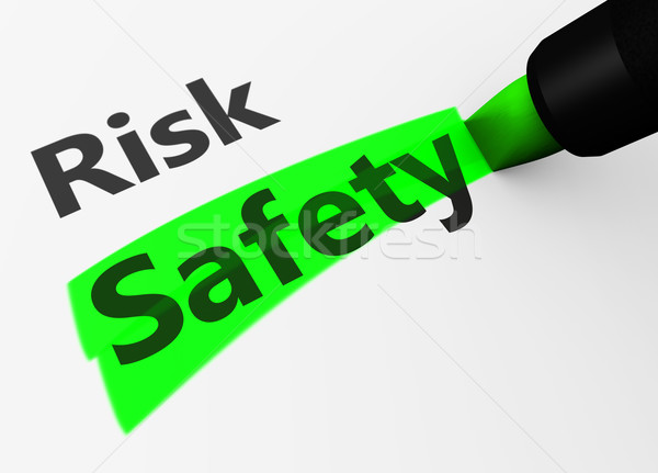 Safety Vs Risk Choice Concept Stock photo © NiroDesign