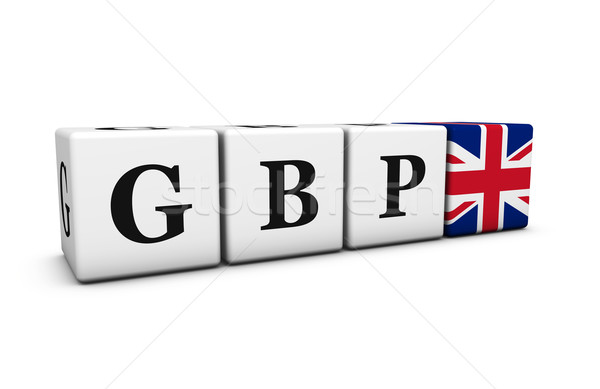 United Kingdom UK Pound Currency Code GBP Stock photo © NiroDesign