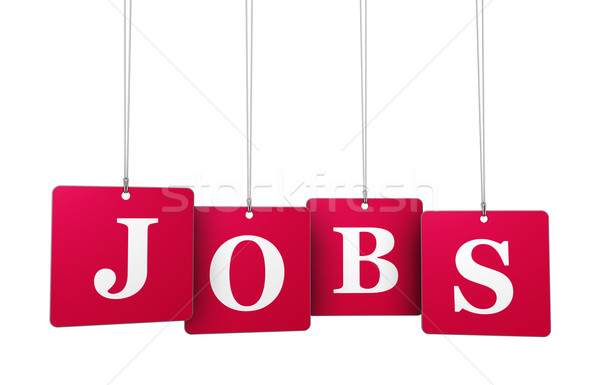 Jobs Tags Stock photo © NiroDesign
