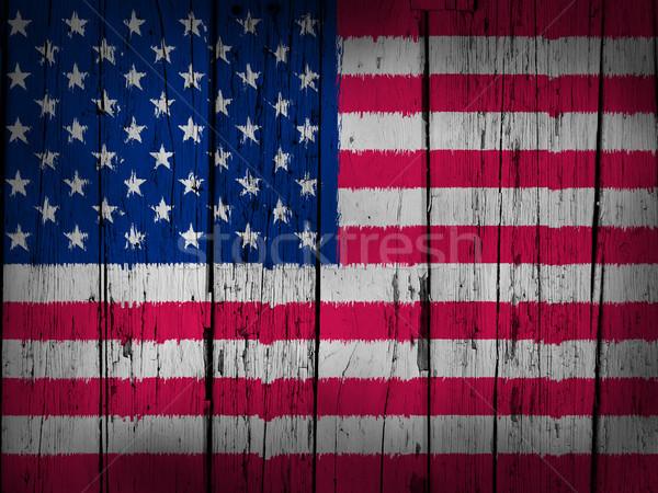 USA bandiera grunge Stati Uniti america verniciato Foto d'archivio © NiroDesign