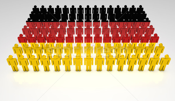 Stock photo: German Parade