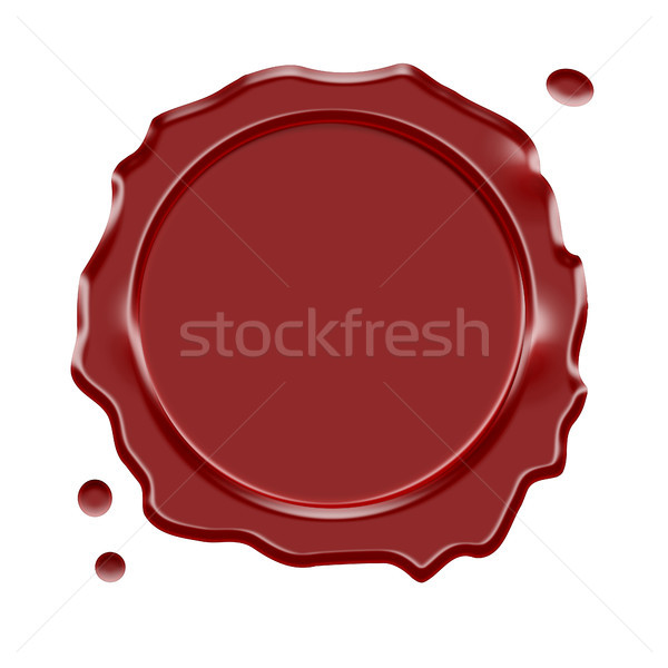 Wax Seal Stock photo © NiroDesign