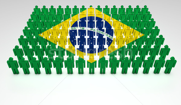 Brazilian Parade Stock photo © NiroDesign