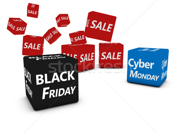 Black friday vendite shopping vendita segno testo Foto d'archivio © NiroDesign