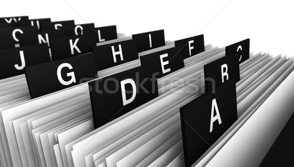Customer Directory Office Business Stock photo © NiroDesign