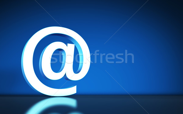 Website Email Symbol Internet Icon Stock photo © NiroDesign