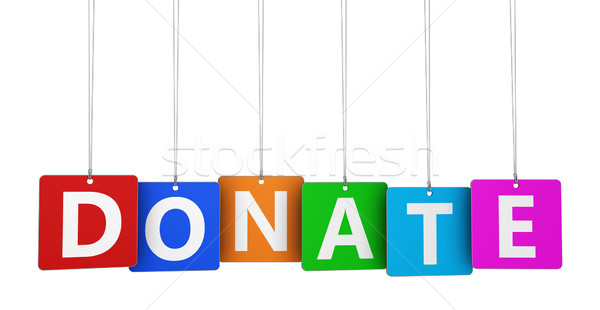Donate Sign Stock photo © NiroDesign