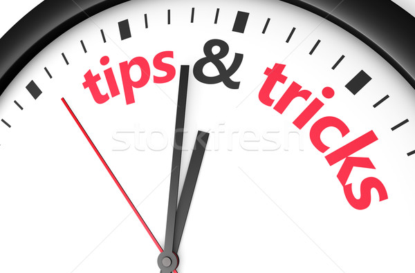 Tips And Tricks Concept Stock photo © NiroDesign