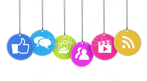 I Like Web And Social Media Concept Stock photo © NiroDesign