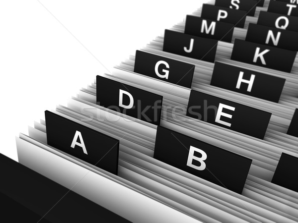 Office Directory Stock photo © NiroDesign