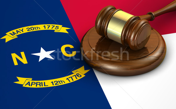 North Carolina Law Legal System Concept Stock photo © NiroDesign