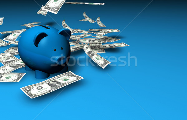 Piggy Bank Savings Money Stock photo © NiroDesign