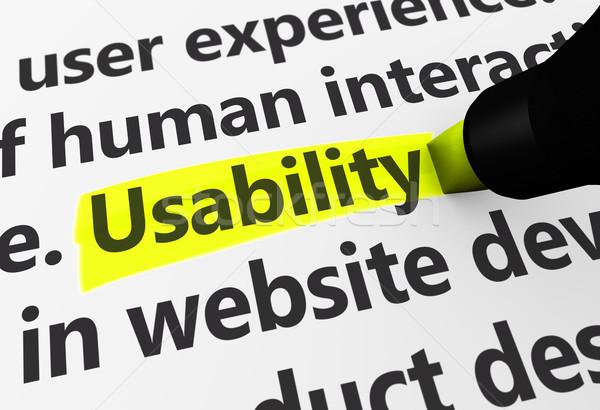 Usability Stock photo © NiroDesign