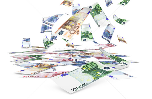 Falling Euro Banknotes Stock photo © NiroDesign