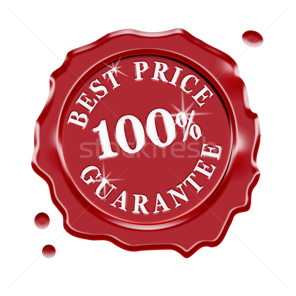 Best Price Guarantee Warranty Stock photo © NiroDesign