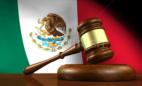 Mexico Justice And Law Concept Stock photo © NiroDesign