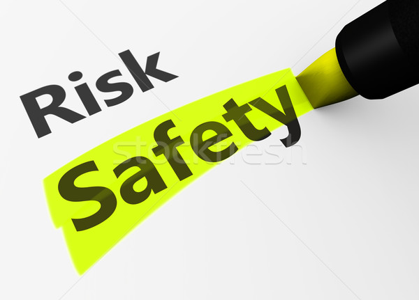 Risk Vs Safety Choice Concept Stock photo © NiroDesign