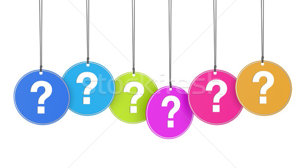 Question Mark Concept Stock photo © NiroDesign