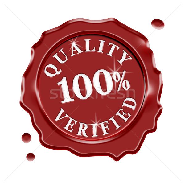 Quality Verified Wax Seal Stock photo © NiroDesign