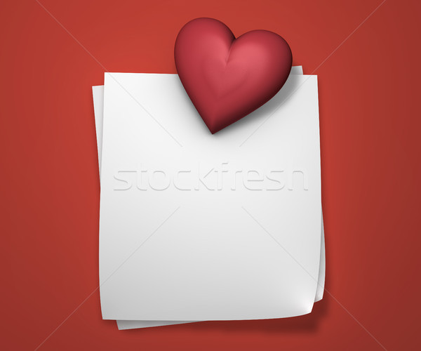 Love Notes Stock photo © NiroDesign