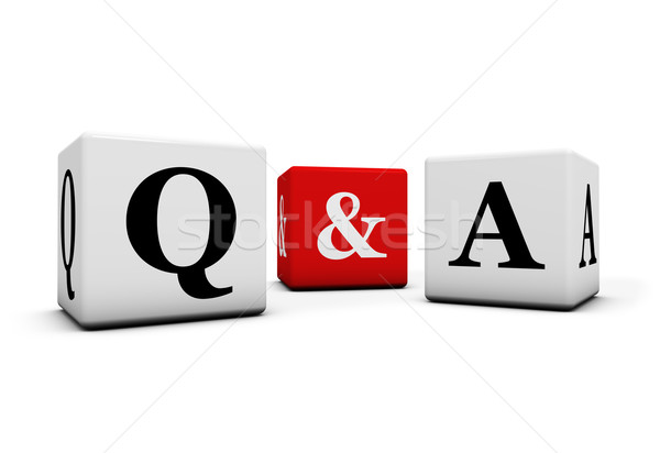Questions And Answers Concept Stock photo © NiroDesign