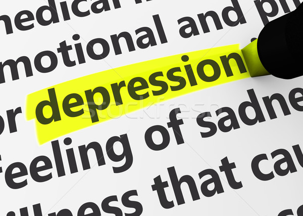 Depression Stock photo © NiroDesign