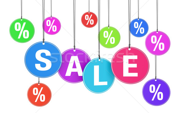Shopping Sale And Discount Concept Stock photo © NiroDesign