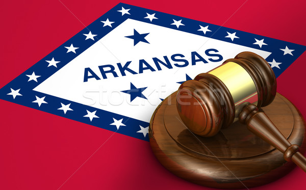 Arkansas Law Legal System Concept Stock photo © NiroDesign