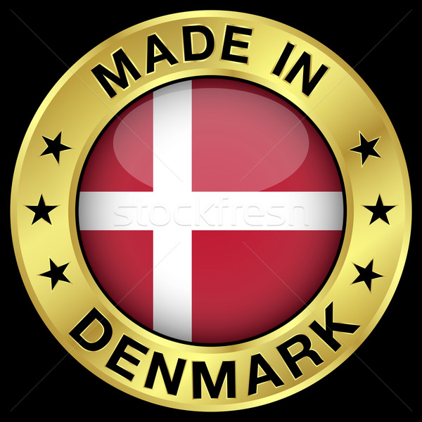 Made In Denmark Stock photo © NiroDesign