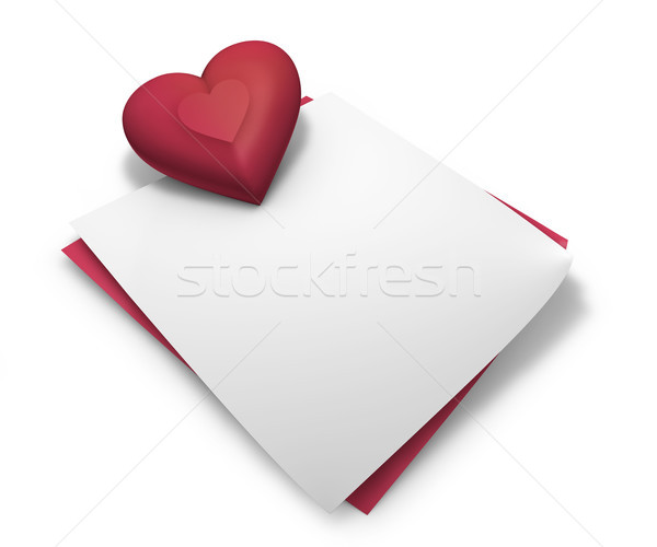 Love And Valentine Day Message Stock photo © NiroDesign