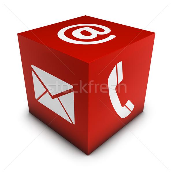 Web website internet pagina e-mail Stockfoto © NiroDesign