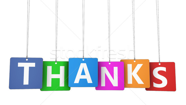 Thanks Customer Thank You Concept Stock photo © NiroDesign