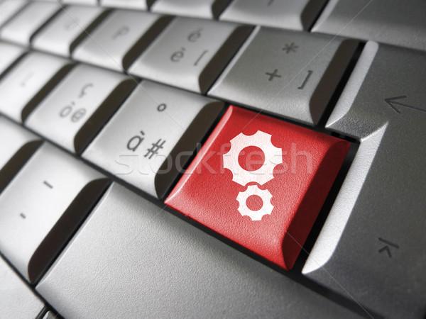 Pc ordenador clave web cuenta Foto stock © NiroDesign