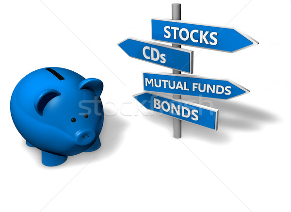 Stock photo: Piggy Bank Investment Concept