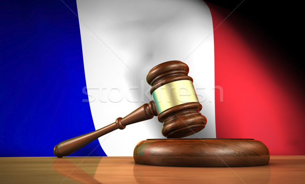 French Law And Justice Concept Stock photo © NiroDesign