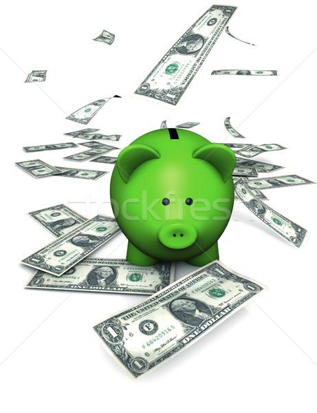 Piggy Bank Savings And Money Concept Stock photo © NiroDesign