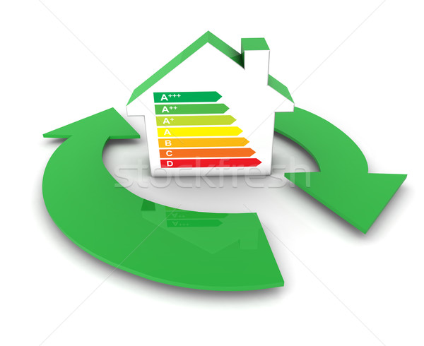 Home Energy Efficiency Labels Stock photo © NiroDesign