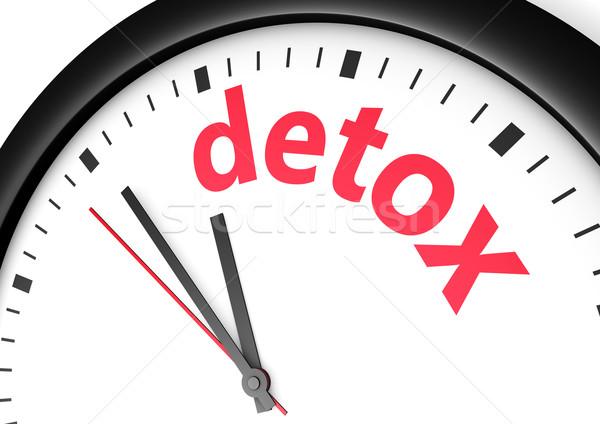 Dieet tijd lichaam zorg Stockfoto © NiroDesign