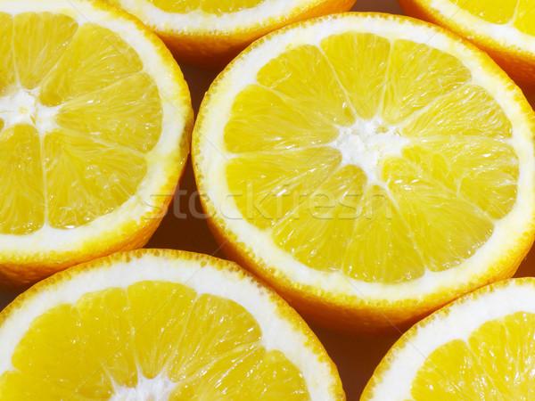 апельсинов поперечное сечение фрукты свежие Сток-фото © NiroDesign