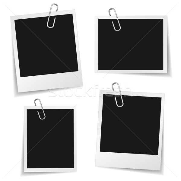 Photo frame graffetta raccolta foto fotogrammi diverso Foto d'archivio © NiroDesign